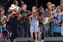 Kids on Bluegrass