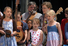 More Kids on Bluegrass