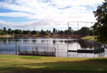 Rotary Park in Clovis is also used for flood control