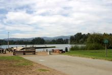 View from Pinto Lake RV Park