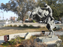 Despite its present size, Clovis honors its cowboy beginnings
